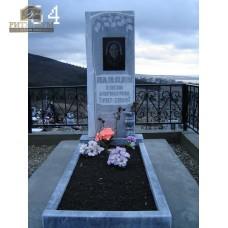 Памятник из мрамора стандарт 64 — ritualum.ru