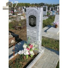 Памятник из мрамора стандарт 47 — ritualum.ru