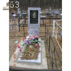 Памятник из мрамора стандарт 63 — ritualum.ru