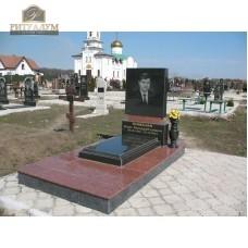 Памятник комбинированный 03 — ritualum.ru