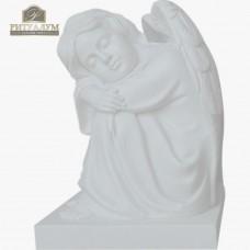 Скульптура ангела из мрамора №109 — ritualum.ru